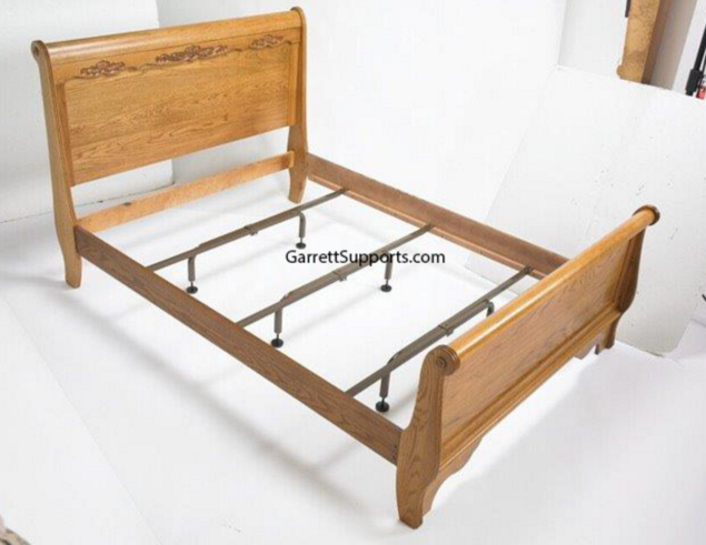 california king bed rails