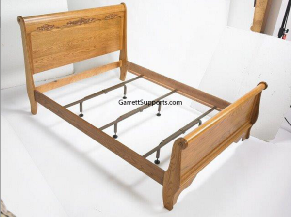 Bed frame center support legs come in packs of three